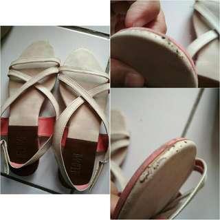 Sendal / Sandal Teplek Nude Pink