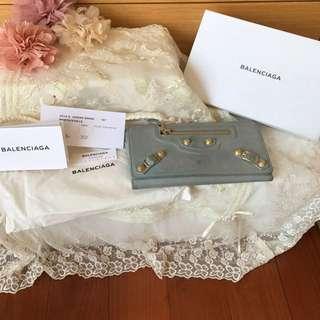 Authentic balenciaga gold money wallet
