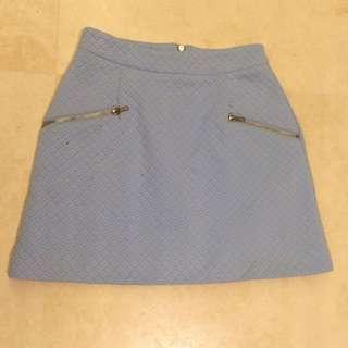Zietgeist Mini Skirt Blue Sz 6