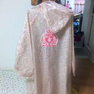 全新 Bonita 百貨公司專櫃 花妍雙層雨衣