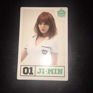 Jimin AOA Heart attack Photocard