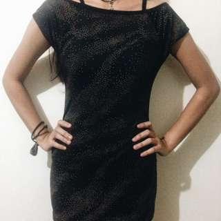 Black Mini Dress Preloved