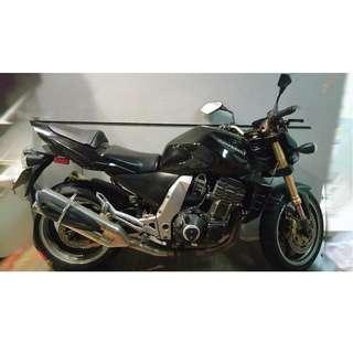 (可議價)自售2004 Kawasaki ZR1000紅牌重機