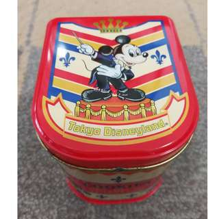 Tokyo Disneyland Mickey Mouse Cookies Metal Container