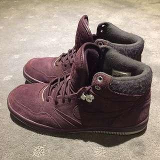 Nike Air Force 1 Maroon Wool/Suede US9