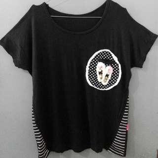 Ribbon Lace Pocket Shirt