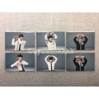 BTS 3rd Muster Army Membership Heart Photocards