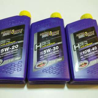Royal Purple HPS with Synerlec Engine Oil