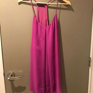 Pink/purple Slip Dress