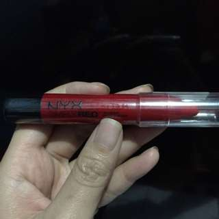 NYX Lipcream Shade Simply Red