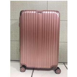行李箱 《拉鍊款》 26吋 玫瑰金