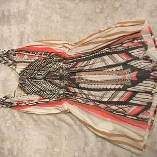 Mink Pink Aztec Play suit