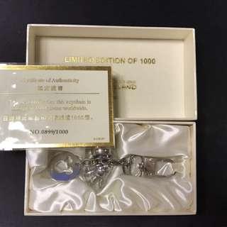 (絕版)香港迪士尼開園限量發售key holder,靚號碼899
