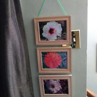 Hand Made Hanging Picture Frame With Original Photography