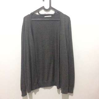 Cardigan Grey Uniqlo