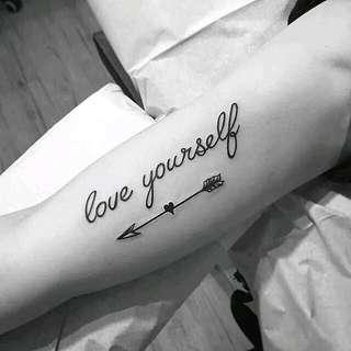 Love Yourself Tattoo