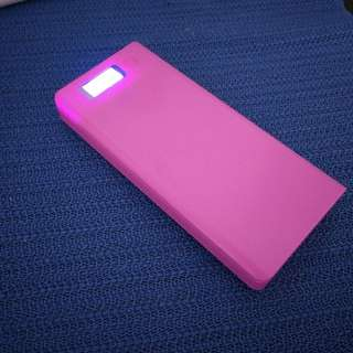 Brand New Pink 30000mAh Power Bank 2.1A Fast Charging With Sanyo Japaneses Cells