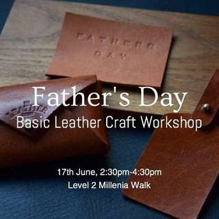 Father's Day Leather Craft Workshop