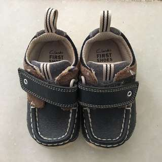 Clark First Baby Shoes