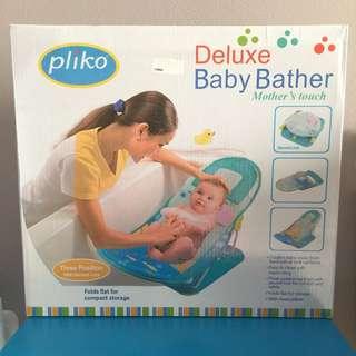 NEW eks kado Pliko Deluxe Baby Bather