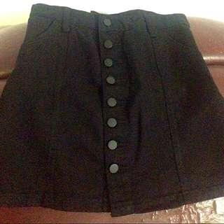 Button Down Skirt