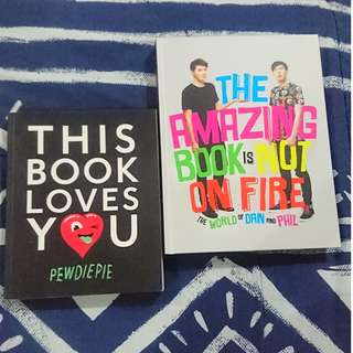 [USED] Youtubers' Book Sale - TABINOF and This Book Loves You