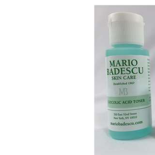 Mario Badescu Glycolic Acid Toner Deluxe Sample/Travel Size 29ml Brand New & Authentic