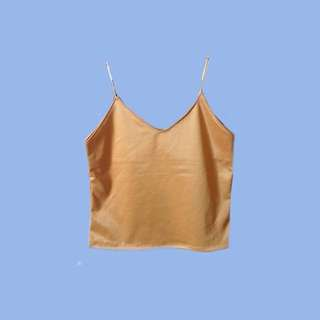 Gold Sleeveless