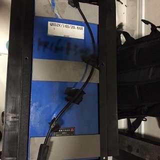dualtron battery 52v 20.8ah