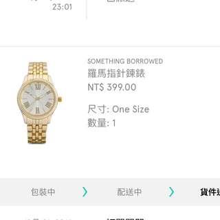 歐美羅馬指針鍊錶/韓式金錶/時尚金錶/手錶