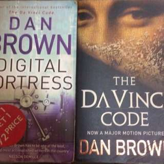 Dan Brown - Digital Fortress And Da Vinci