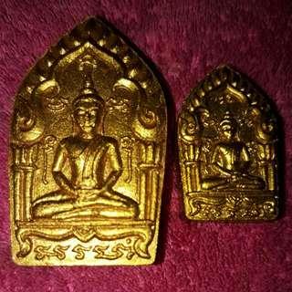 Thai Amulet - Phra Khun Paen 1 Set 2 Pcs