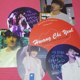 Hwang Chi-Yeul Paper Fan - any 2 For SGD 5