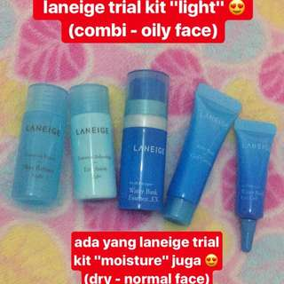 Laneige Trial Kit - Light (100% Original)