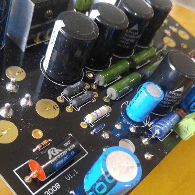 300B Tube Amp Board
