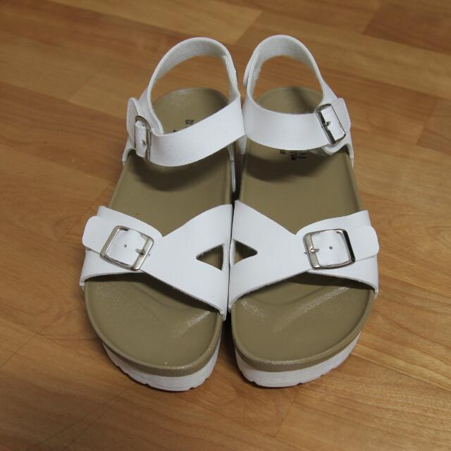 厚底涼鞋 (近全新)