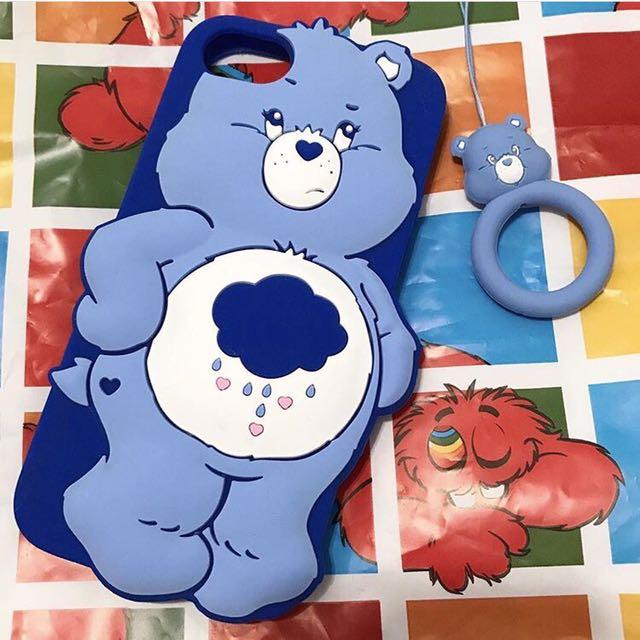 現貨商品🌟 原宿女孩 carebear 彩虹熊iphone手機殼