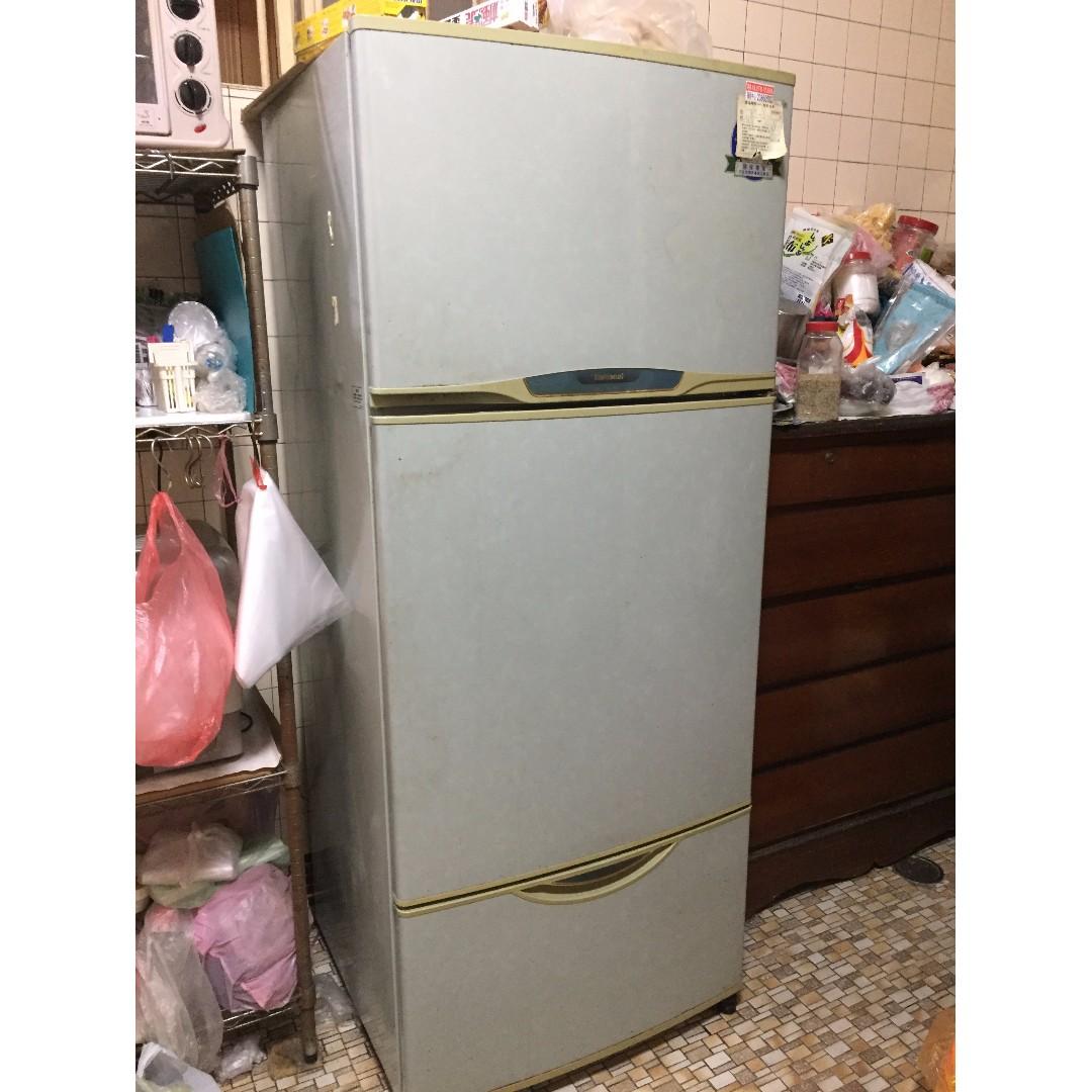 電冰箱 功能正常中古品 National國際牌 NR-A560MD 三門500公升 二手冰箱