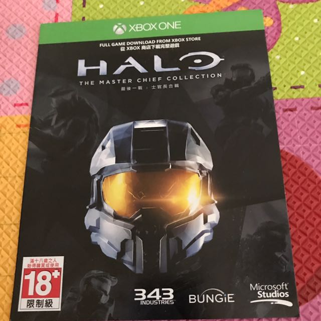 最後一戰:士官長合輯 Xbox One 數位版 Halo The Master Chief Collection
