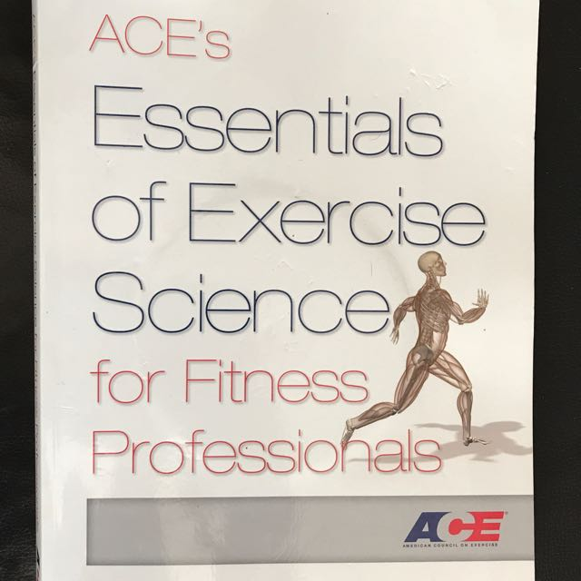 Ace Certified Personal Trainer Course Books Books Stationery