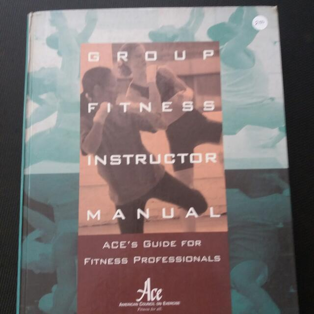 ACE Group Fitness Instructor Manual REPRICED