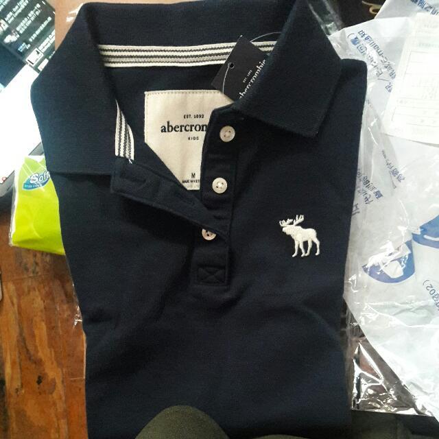 A&F 女童polo衫