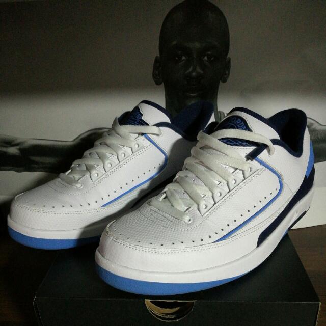 pretty nice f64fb 70c04 ... new zealand air jordan 2 low university blue mens fashion footwear on  carousell 8c269 87c4a ...