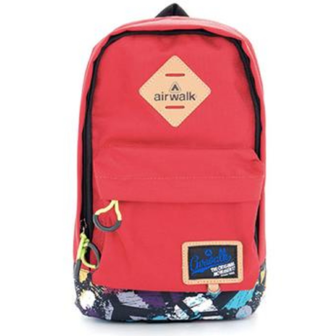 Airwalk iPad Backpack - Red