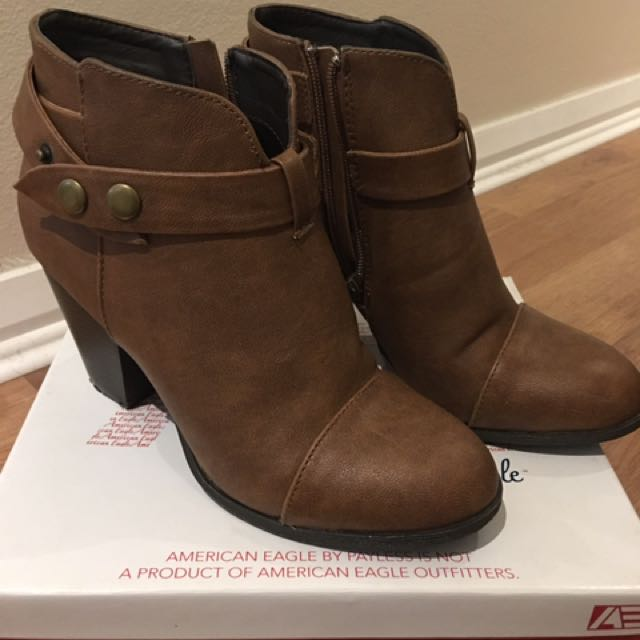 America Eagle Brown Boots