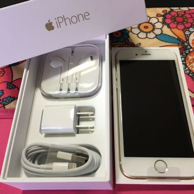 Apple Iphone 6 (Gold) 32gb