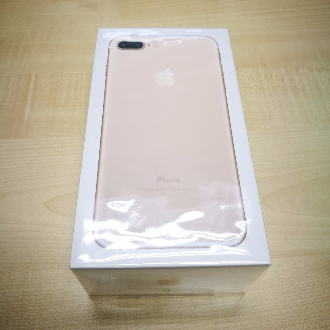 Apple Iphone 7 Plus 128gb Gold Malaysia Set New Mobiles Tablets 128 Gb Photo