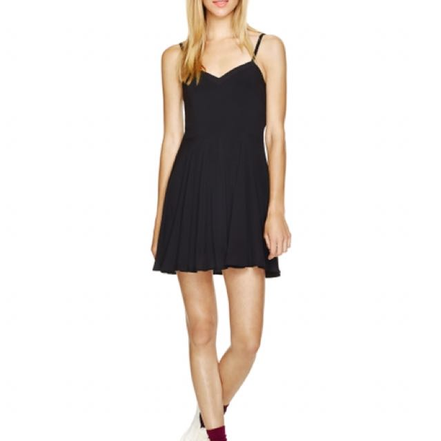 Aritzia Black Dress