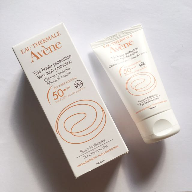 Avene Mineral Cream (Sunscreen) SPF 50+