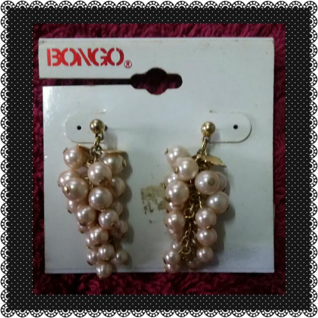 Baby PINK Grapes Earrings From US